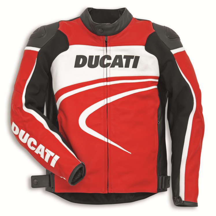 blouson cuir ducati sport c2 s team motos. Black Bedroom Furniture Sets. Home Design Ideas