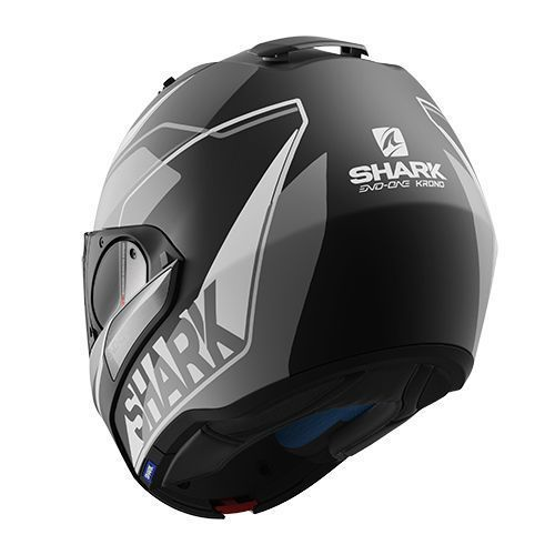 Casque Shark Evo One Krono Mat Silver Steam Motos