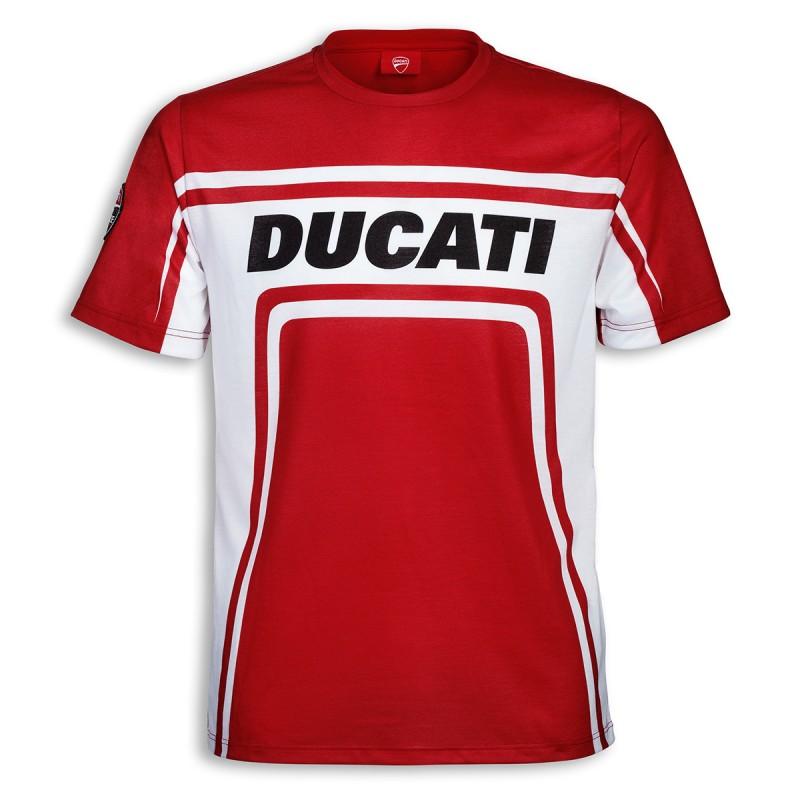 Ducati Corse T-Shirt Croquis Noir