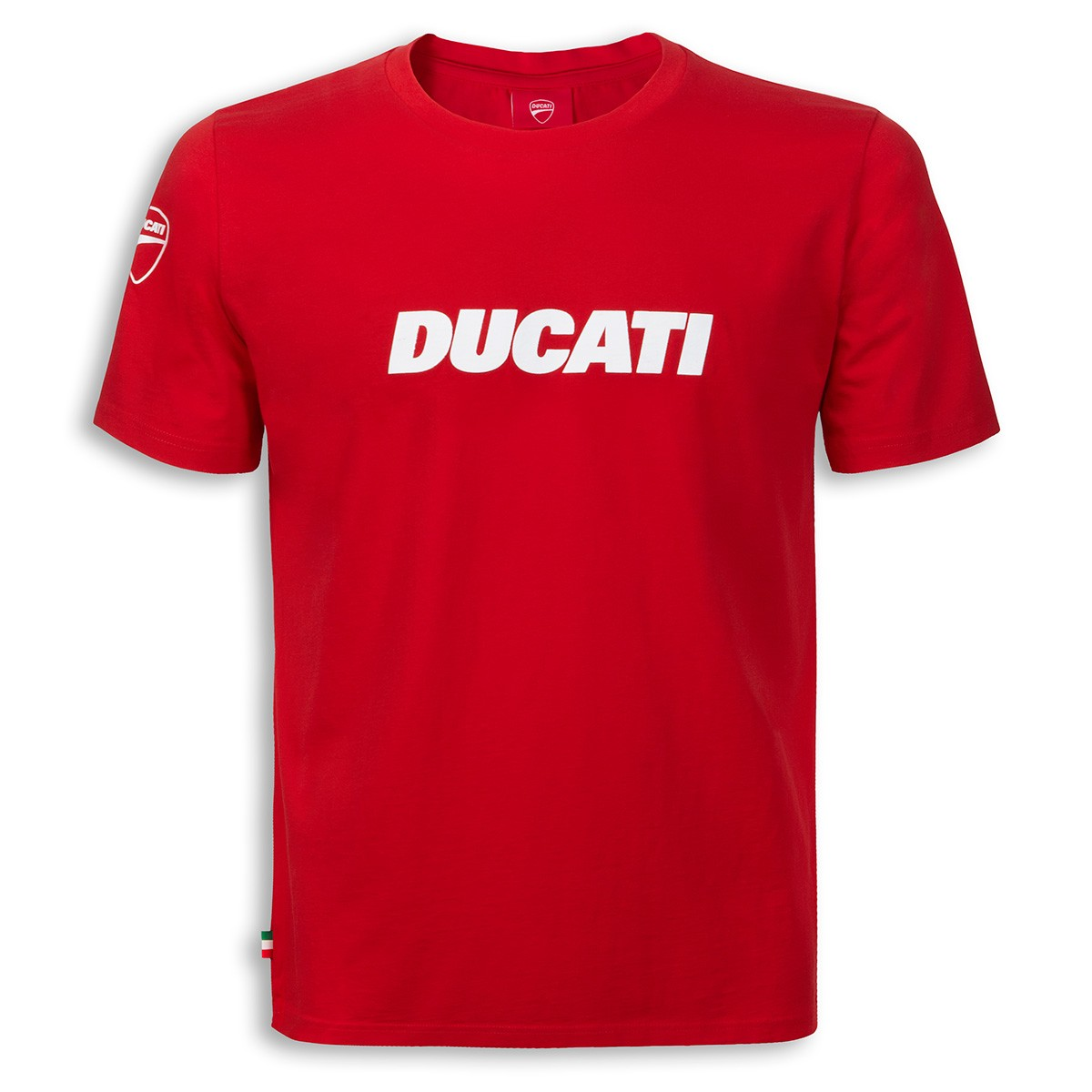 t shirt ducati ducatania 2 noir rouge blanc s team motos. Black Bedroom Furniture Sets. Home Design Ideas