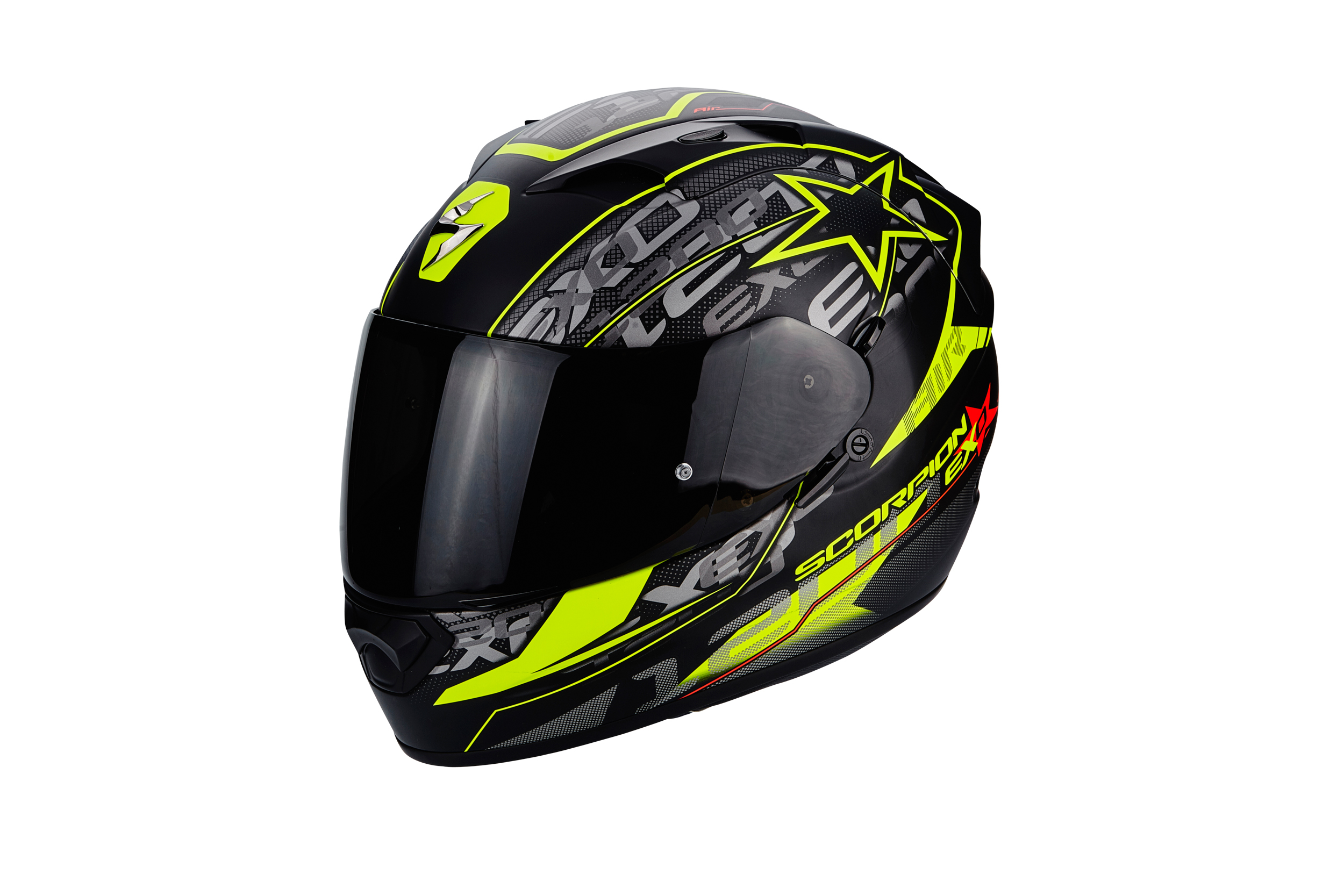 casque scorpion exo 1200 air solis s team motos. Black Bedroom Furniture Sets. Home Design Ideas