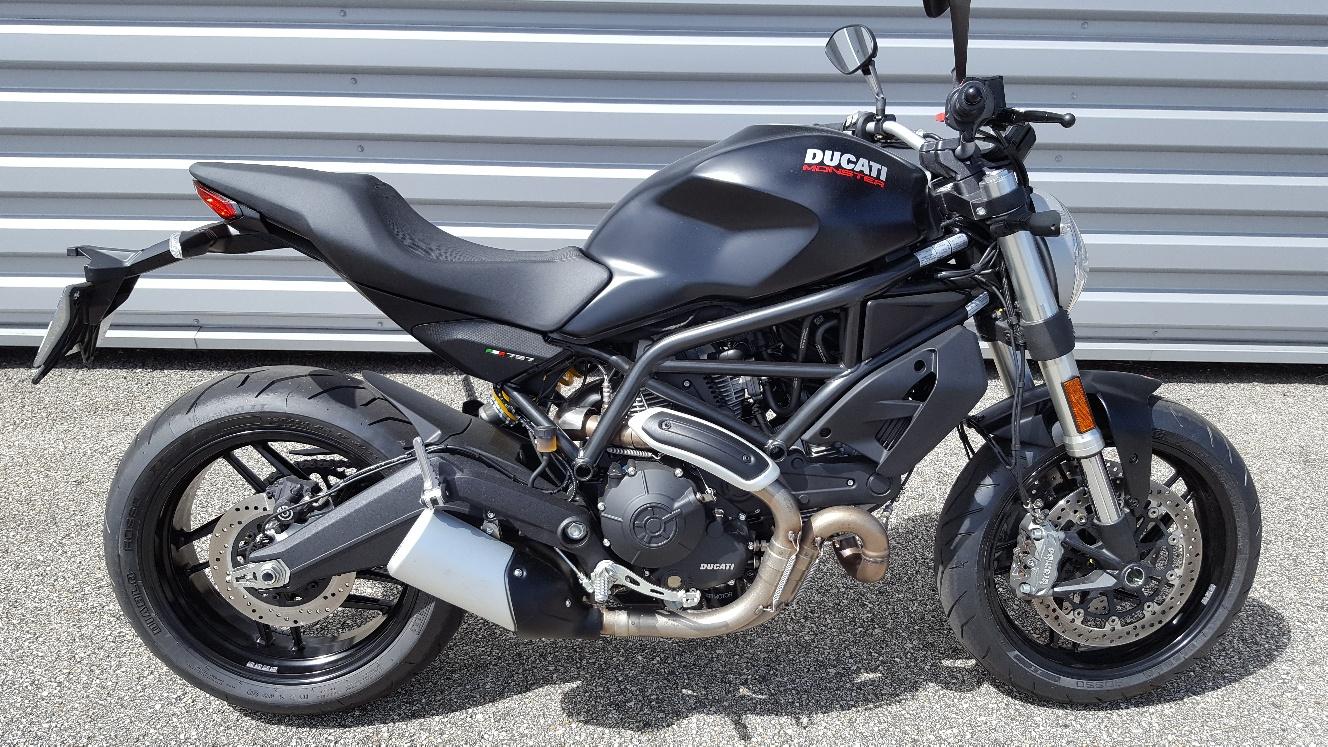 ducati monster 797 permis a2 s team motos. Black Bedroom Furniture Sets. Home Design Ideas