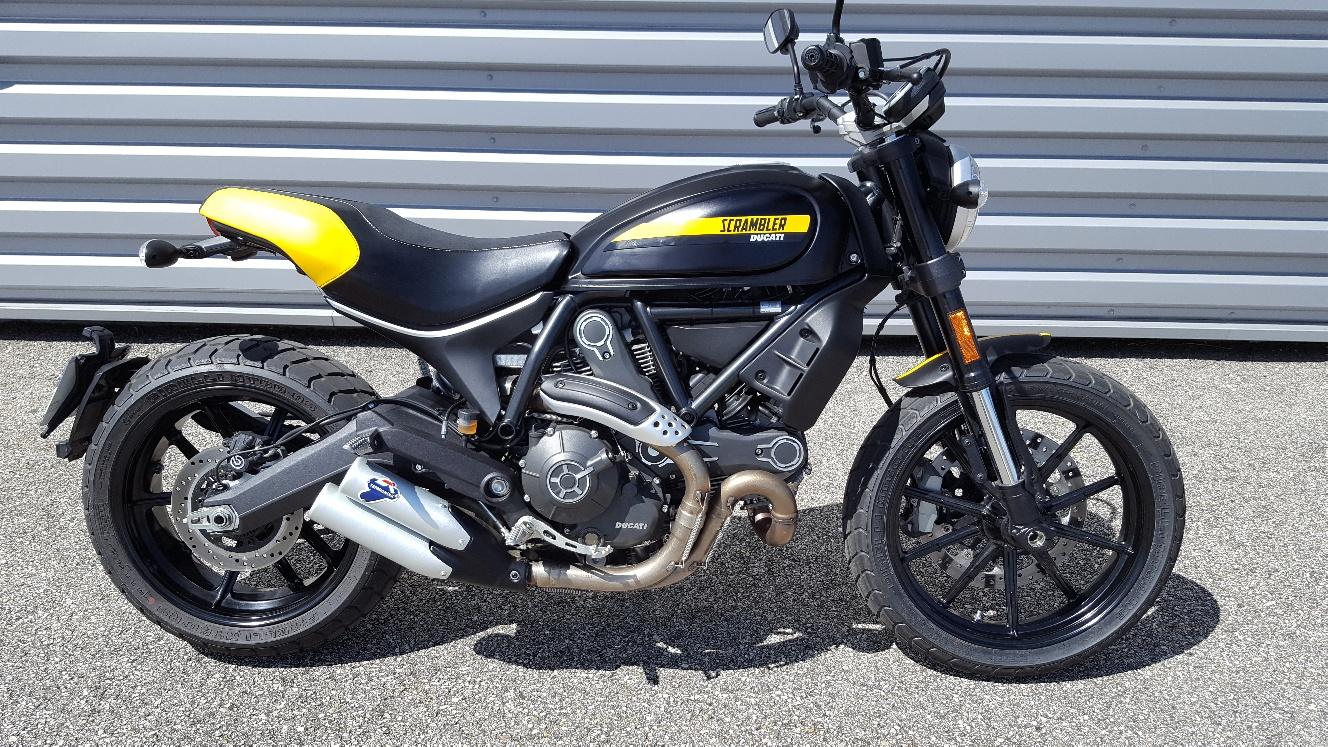 ducati scrambler full throttle occasion steam motos bourg peronnas 1 s team motos. Black Bedroom Furniture Sets. Home Design Ideas