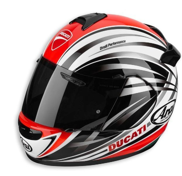 casque arai chaser v ducati stripe s team motos. Black Bedroom Furniture Sets. Home Design Ideas