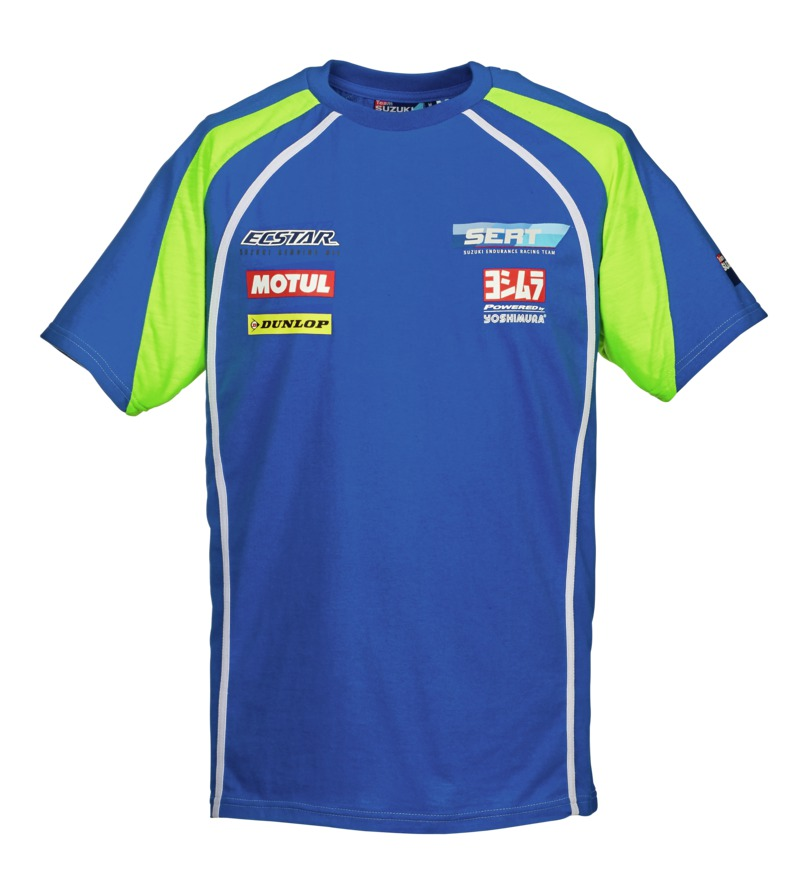 t shirt du team sert quipe suzuki d 39 endurance s team motos. Black Bedroom Furniture Sets. Home Design Ideas