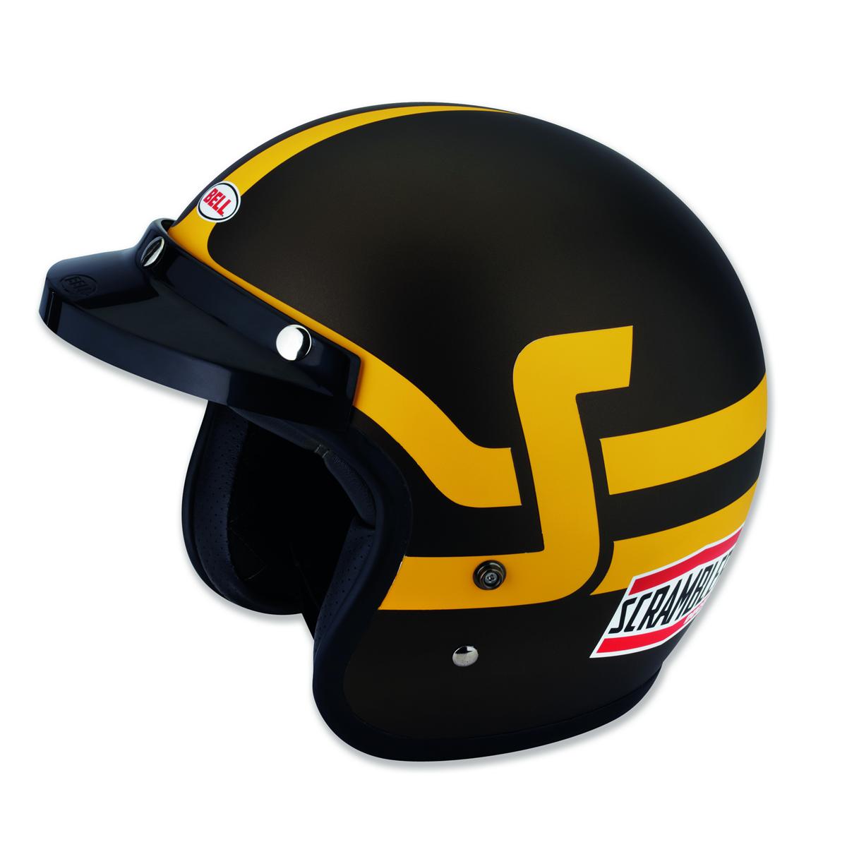 casque jet ducati scrambler short track s team motos. Black Bedroom Furniture Sets. Home Design Ideas