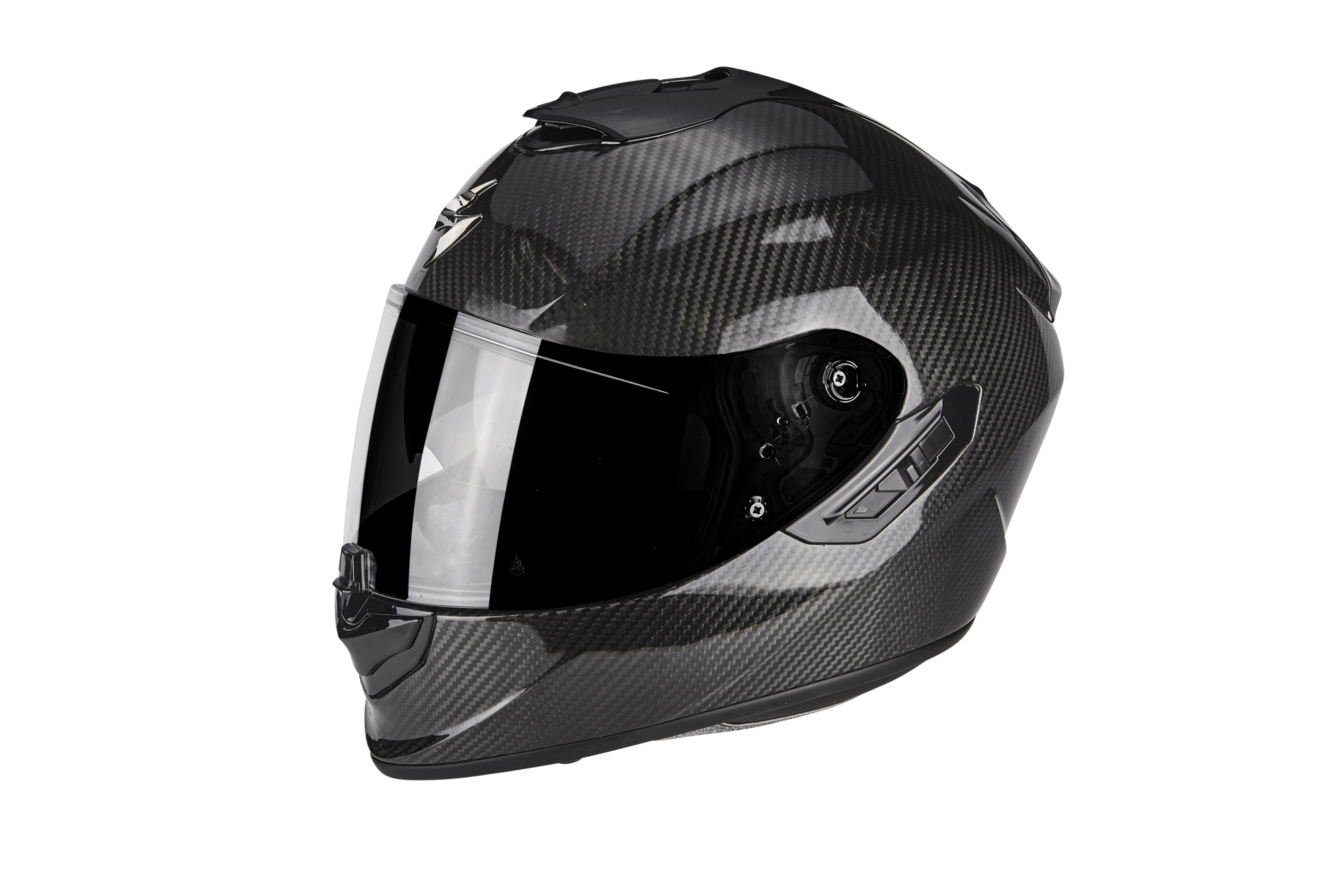 casque scorpion exo 1400 air carbone s team motos. Black Bedroom Furniture Sets. Home Design Ideas