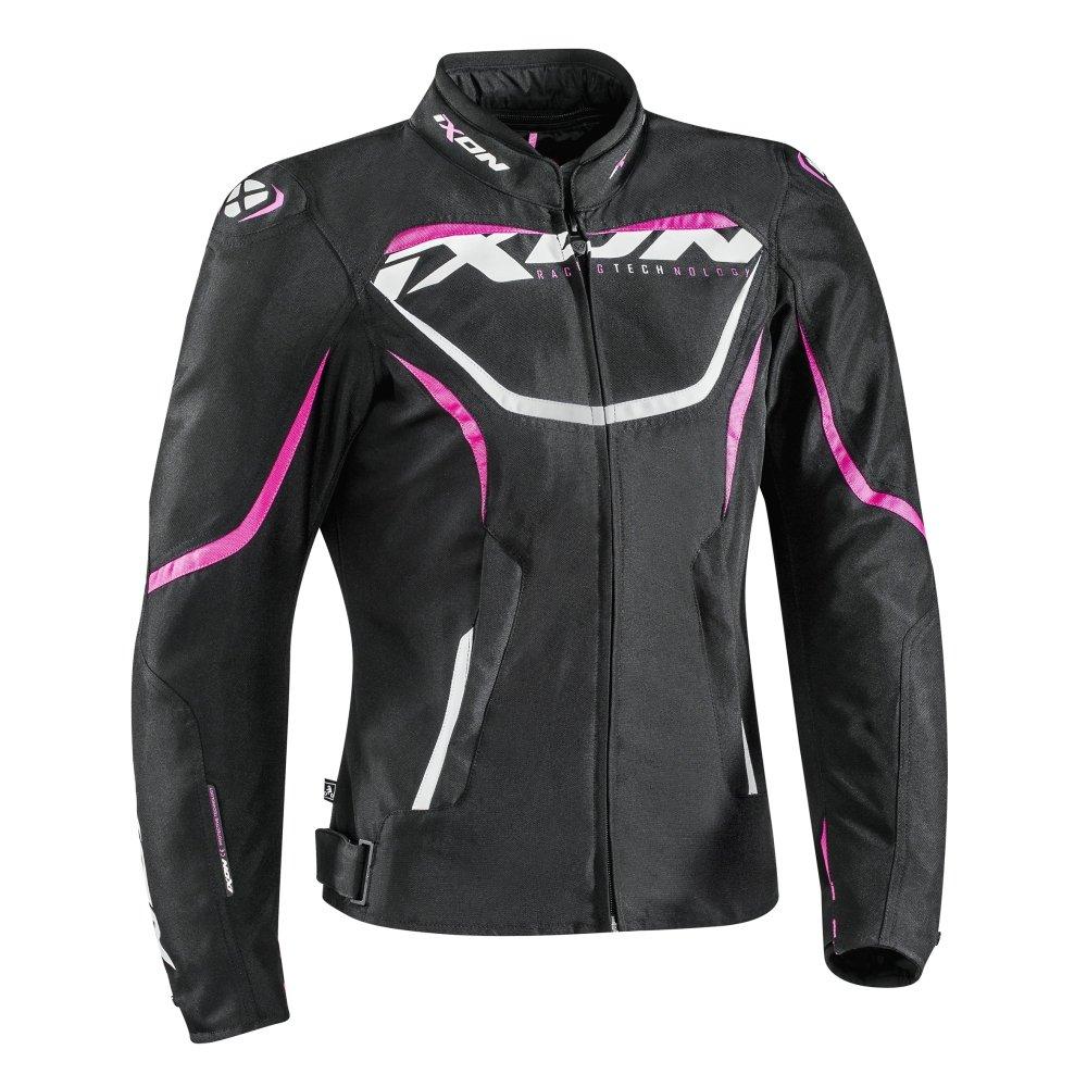 blouson textile ixon sprinter femme noir rose s team motos. Black Bedroom Furniture Sets. Home Design Ideas