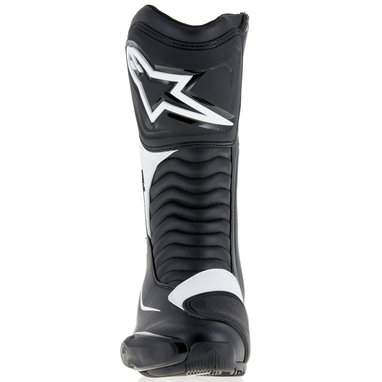 moto axxe bottes racing alpinestars smx s noir blanc piste face s team motos. Black Bedroom Furniture Sets. Home Design Ideas
