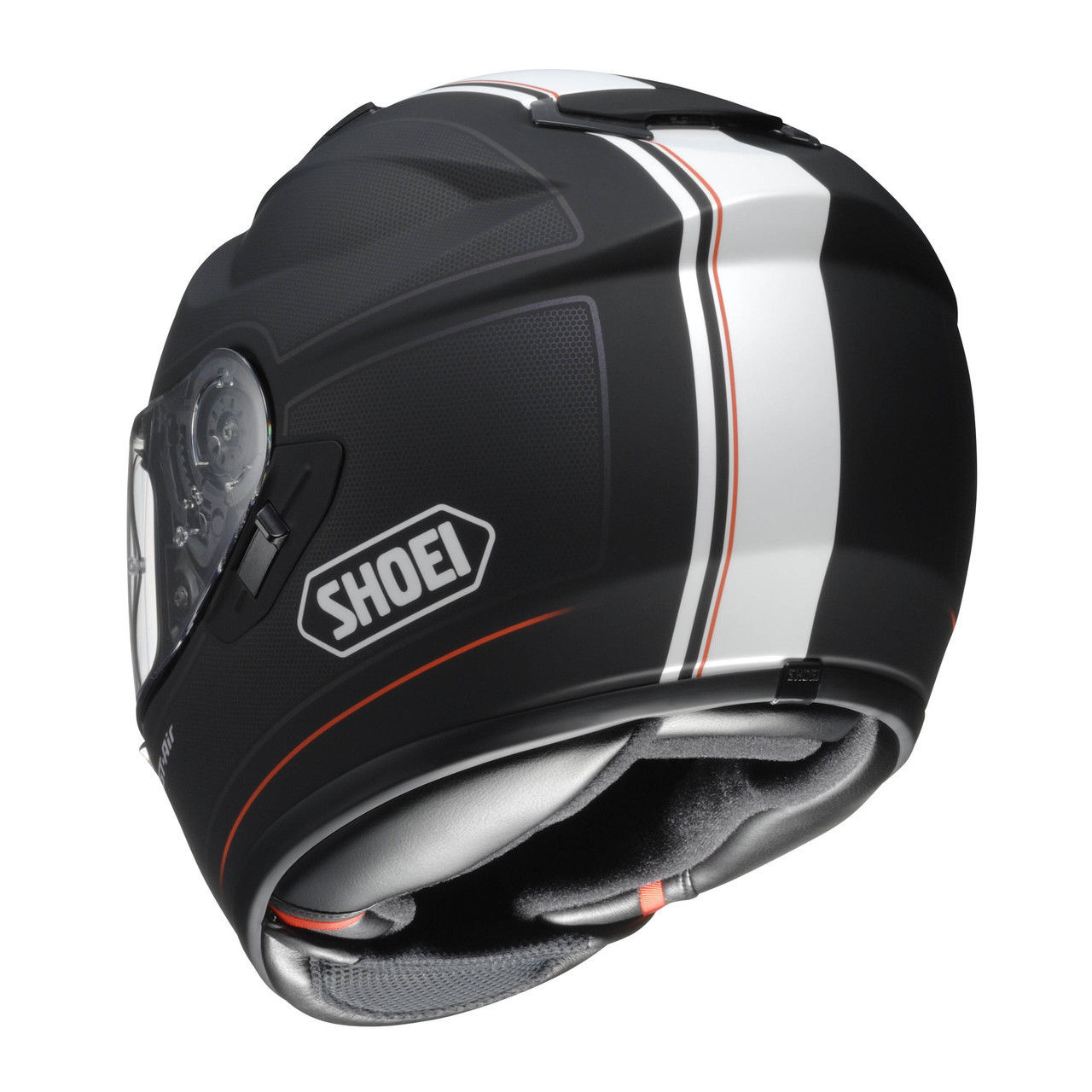 casque int gral fibre shoei gt air wanderer s team motos. Black Bedroom Furniture Sets. Home Design Ideas