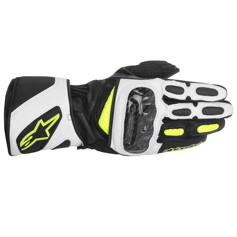 gants racing en cuir alpinestars sp 2 s team motos. Black Bedroom Furniture Sets. Home Design Ideas
