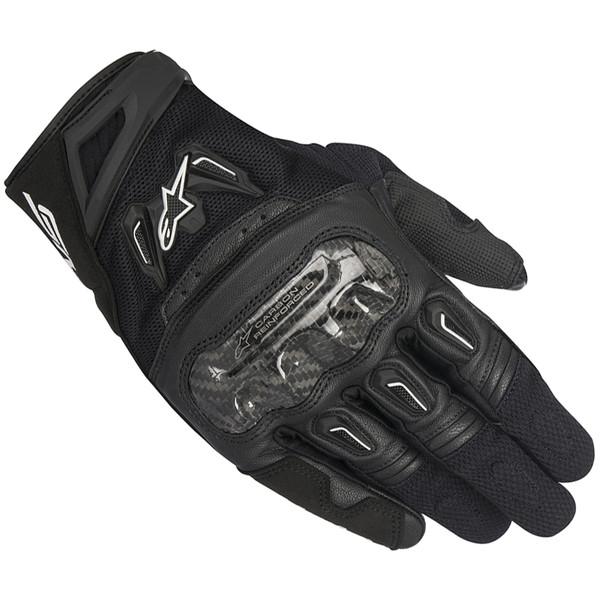 gants courts alpinestars smx 2 air v2 carbone s team motos. Black Bedroom Furniture Sets. Home Design Ideas
