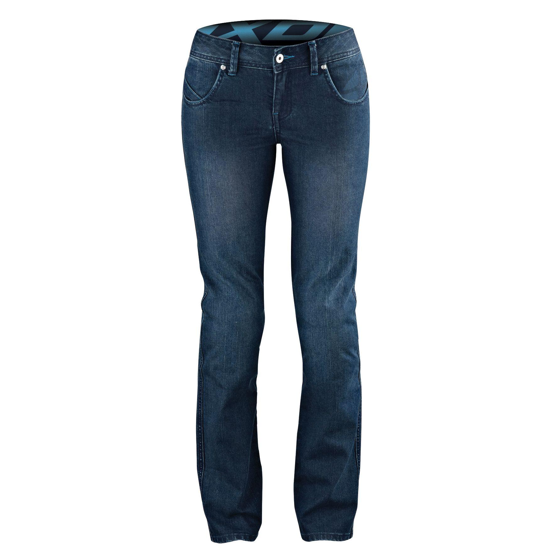 pantalon moto ixon britney bleu femme s team motos. Black Bedroom Furniture Sets. Home Design Ideas