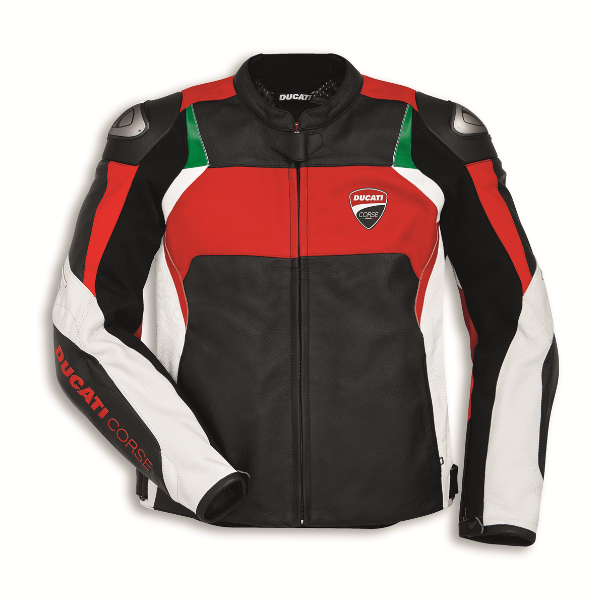 blouson cuir dainese ducati corse c3 rouge s team motos. Black Bedroom Furniture Sets. Home Design Ideas