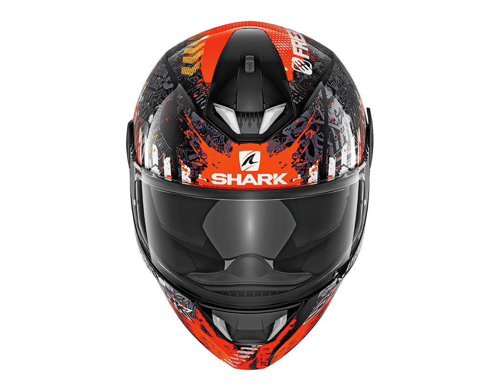 Casque Shark Skwal 2 Switch Rider 2 Orange Steam Motos