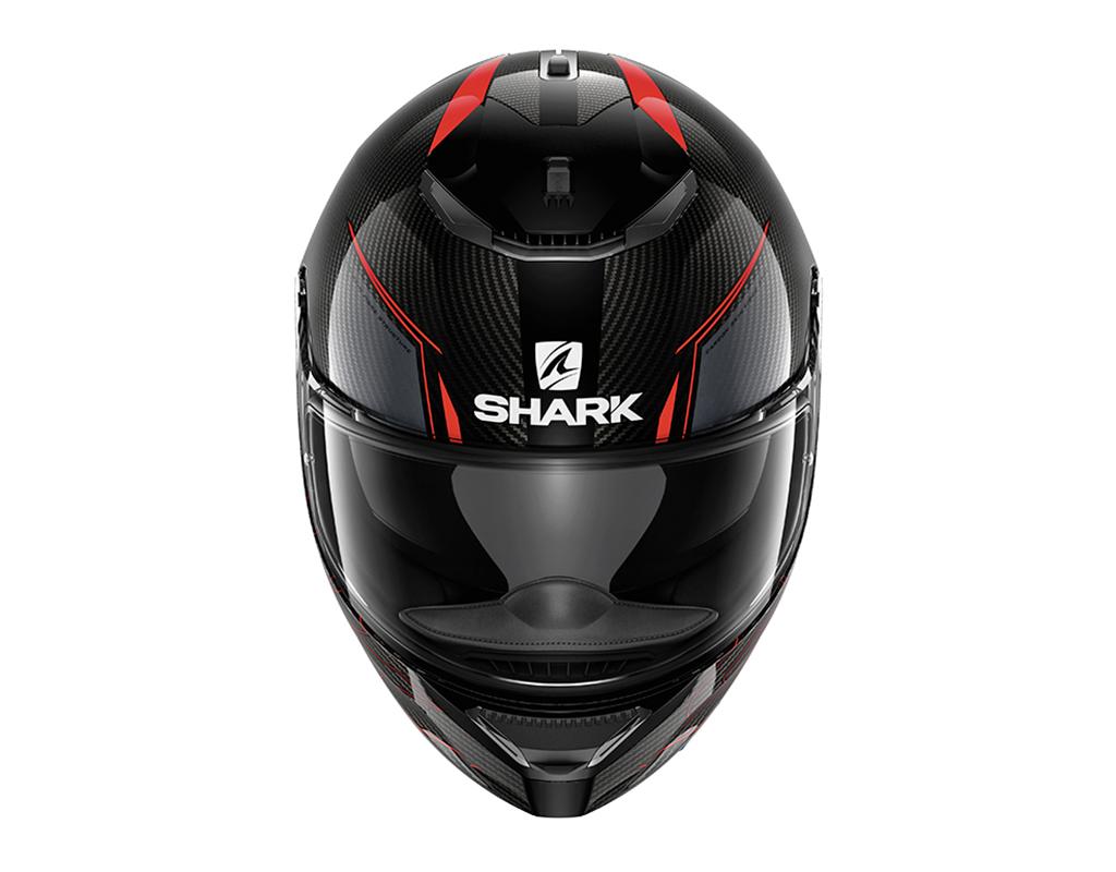 casque shark spartan carbon silicium s team motos. Black Bedroom Furniture Sets. Home Design Ideas