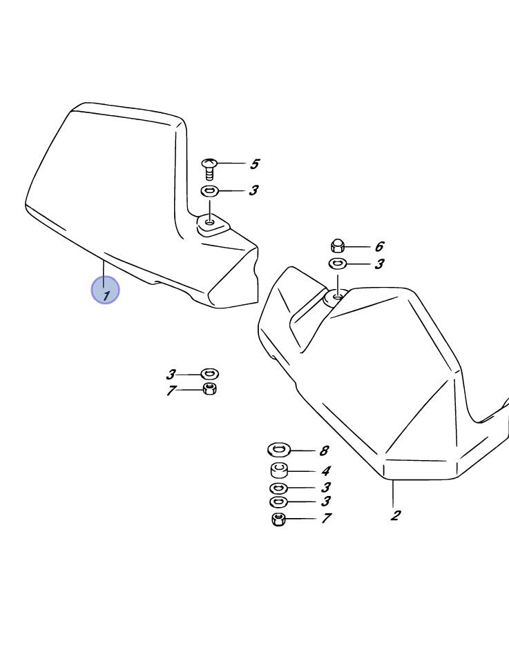 pare main suzuki dl650 dl1000 v strom s team motos. Black Bedroom Furniture Sets. Home Design Ideas