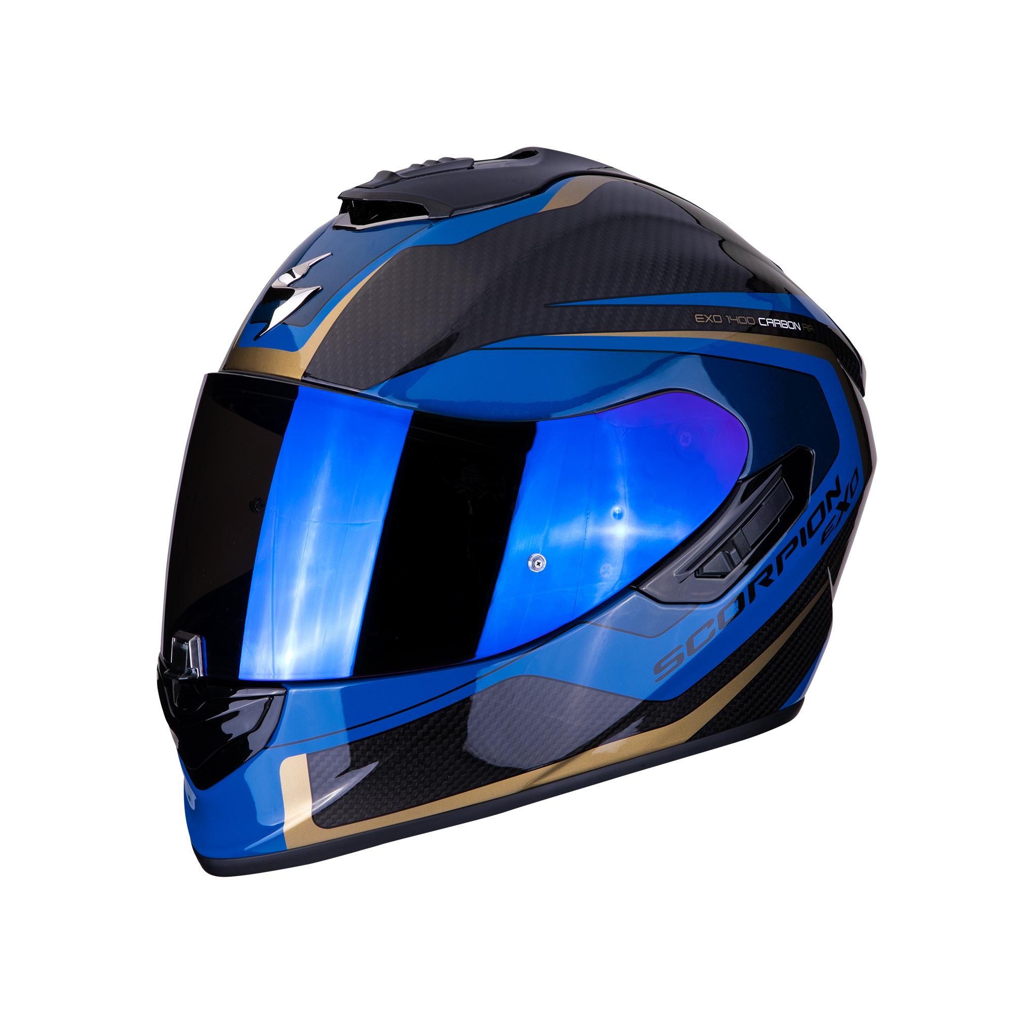 casque scorpion exo 1400 air carbon esprit s team motos. Black Bedroom Furniture Sets. Home Design Ideas